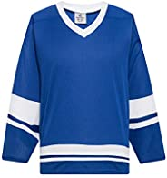 EALER H400 Series Blank Ice Hockey League Jersey Practice Jersey for Men and Boy - Senior and Junior - Adult a