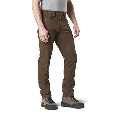 5.11 Mens Defender-Flex Slim Fit Tactical Pant, Sytle 74464 , Burnt, 34Wx34L (The Best Flex Com)