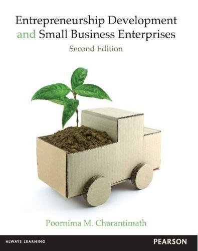 Entrepreneurship Development and Small Business Enterprises pdf epub