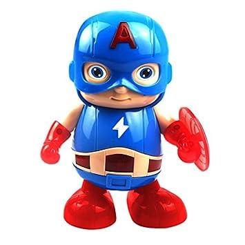 Gylewj Capitán América Robot Bailarín - Vengadores - Música ...