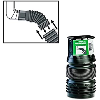 Flexible Downspout Adapter Connector 2 Inch X 3 Inch X 3