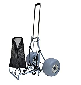 4. Wheeleez Folding Beach Cart