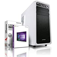Shinobee PC Gamer / Multimédia - Unité centrale pour ordinateur de bureau (Processeur AMD A10-7700K 4 x 3.8GHz Turbo - Mémoire RAM 16GB - 16384MB DDR3 - 128GB SSD - 1TB S-ATA III HDD - AMD Radeon intégrée HD R7 4096 MB DVI/VGA avec technologie DirectX12 - USB3 - Lecteur graveur DVD - 6 ports USB - Windows 10 64 Bits) #5744