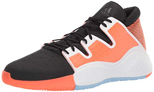 Shorts Black White Coral - adidas Men's Pro Vision Basketball Shoe, Black/White/hi-res Coral, 11 M US