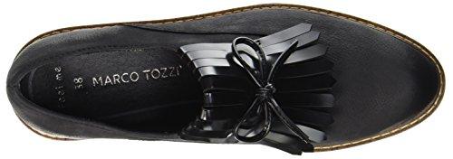 Premio Donna black Mocassini Ant Tozzi comb Marco Nero 24731 5I1fpxqw
