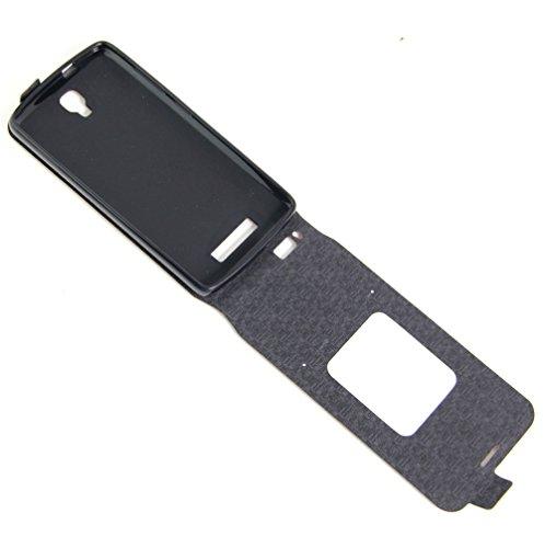 Funda ZTE Blade L5,Manyip Caja del teléfono del cuero,Protector de Pantalla de Slim Case Estilo Billetera con Ranuras para Tarjetas, Soporte Plegable, Cierre Magnético A