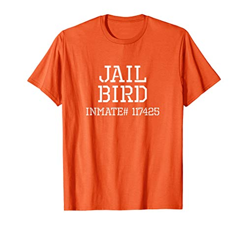 Funny Jail Bird Halloween Costume Tshirt -