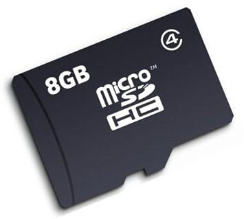 Acetec 8 GB Flash tarjeta de memoria Micro SD HC para ...