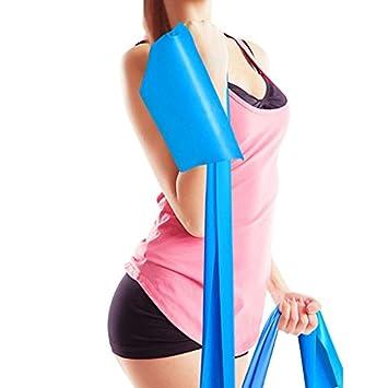 Amazon.com: denzone Yoga Pilates cinturón correa elástico ...