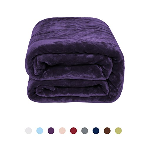 Flannel Fleece Blanket - Bed or Couch Throw by NEWSHONE