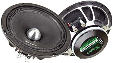 Timpano TPT-NEO6 Bullet 6.5″ Midrange Audio system Pair – Professional Audio 6.5 Inches Loudspeaker, 4 Ohms, 150 Watts RMS, 300 Watts Steady Energy Mid-Vary Speaker (Pair)