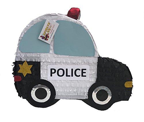 APINATA4U 2-D Flat Police Car Pinata