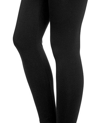 oodji Ultra Femme Legging en Maille avec Ceinture Élastique
