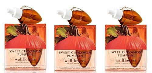 Sweet Cinnamon Pumpkin Wallflowers - SIX Refill Bulbs - Bath & Body Works by Bath & Body Works