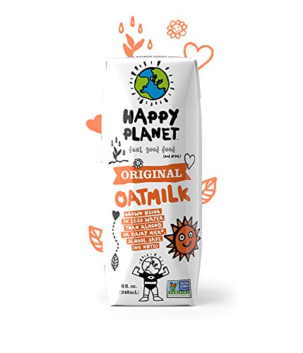 Happy Planet Oat Milk Original 8 oz Pack of 24 by Happy Planet (Image #3)