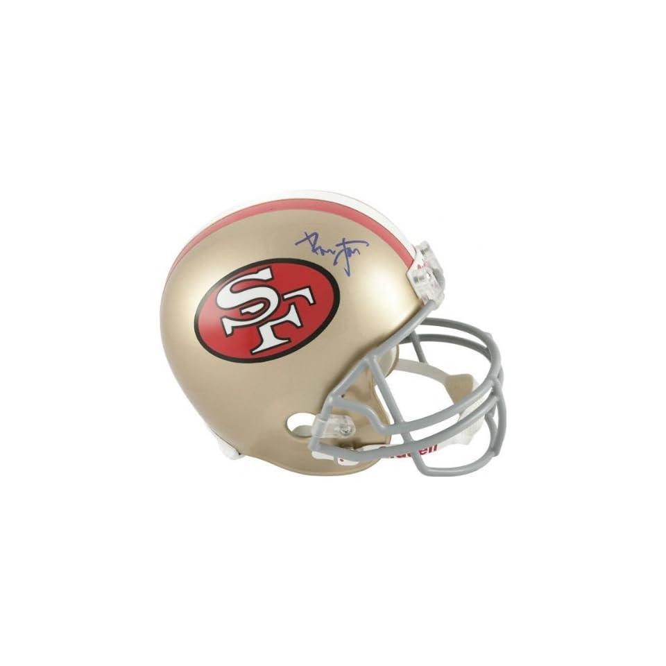 Ronnie Lott Autographed Helmet  Details San Francisco 49ers, Riddell Replica Helmet