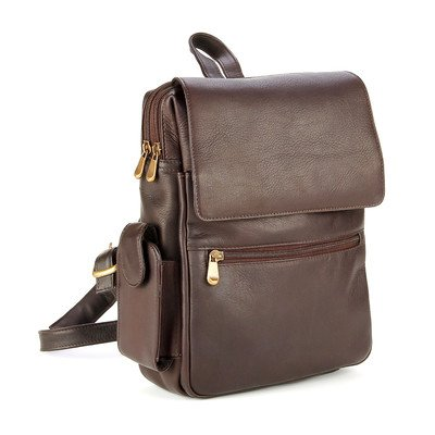 LeDonne LD-7060-CAFÉ Woman's iPad/E-Reader Backpack by LeDonne