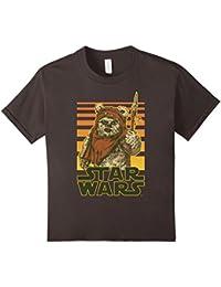 Wicket Retro Ewok Sunset Halftone Graphic T-Shirt