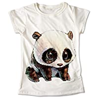 Blusa Oso Panda Colores Playera Estampado Animales 051