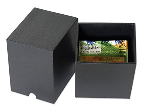 Archival Eternity Storage Box for Artist Trading Cards - Black by HG Concepts