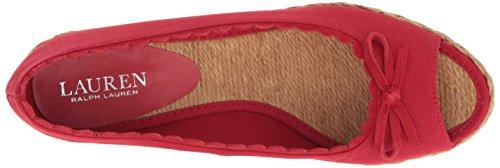 Lauren Di Ralph Lauren Womens Rosso