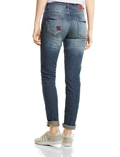 Blau Wash 10279 Jeans Slim authentic Cecil Donna Used Charlize xgqwC4fO