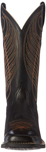 Wide Ariat Up Limousine Western Toe Women's Round Cowboy Black Square Boot nn1qSAx