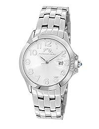 Porsamo Bleu Olivia Stainless Steel Silver Tone Women's Watch 981AOLS