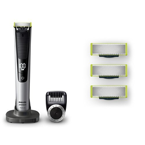 Price comparison product image Philips Norelco Oneblade Hybrid Electric Trimmer and Replacement Blade, 3 Count