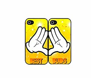 Character Hands Best friends bff Set of 2 Best Friend Plastic Phone Case Back Covers iphone 6 plusd 5.5