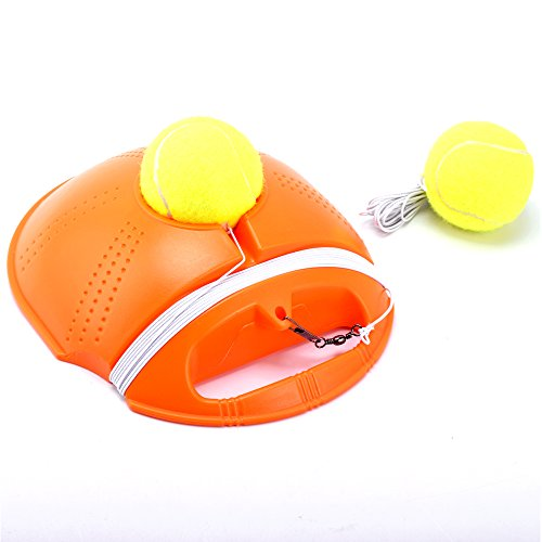 Springen Tennis Practice Training Sport With 2 Balls