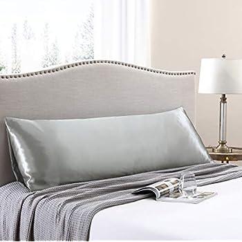 Amazon Com Omelas Silver Grey Striped Body Silk Satin