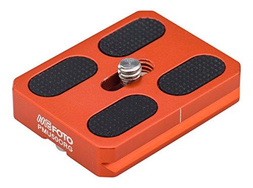 MeFOTO RoadTrip & GlobeTrotter Camera Plate - Orange (PMU50ORG)