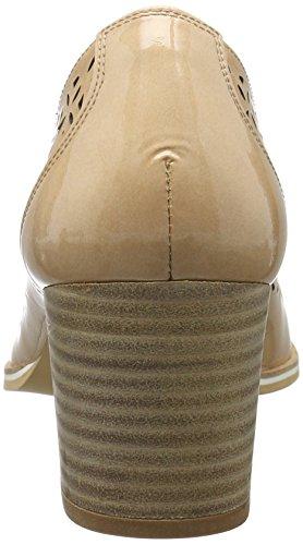 Hispanitas Irina-5 - Tacones Mujer Beige (KAFFIR-V7 ECRU)