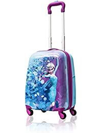 Frozen Hard Side Spinner Trolley 18 Inch Luggage for, Blue, Size One_Size
