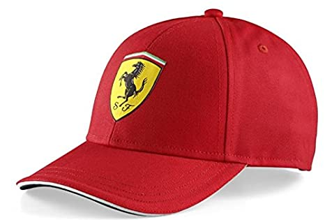 Amazon.com  Ferrari Kid s Classic Red Cap  Sports   Outdoors f6b5db0df71