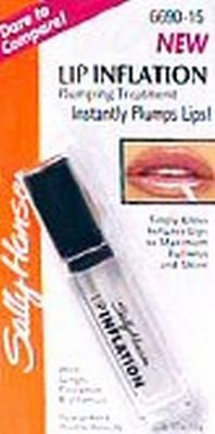 Instant Lip Plumper (Sally Hansen Lip Inflation Tints, Clear Plumping Treatment, 6690-15)