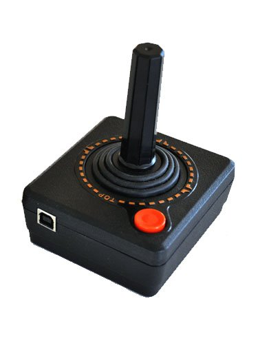 Atari Styled USB Joystick Video Game Controller