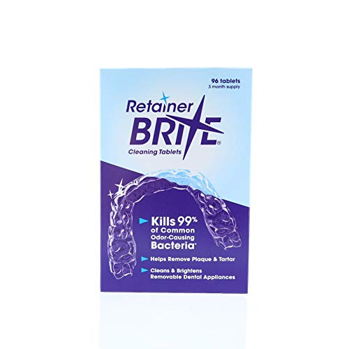 Smile Brite Replacement Heads - Retainer Brite 96 Tablets (3 Months Supply)