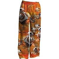 Star Wars Fuerza Awakens adulto BB-8Droid Lounge Pajama Dormir Pantalones