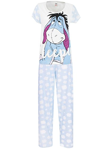 Disney Eeyore Womens' Eeyore Pajamas Large (Eeyore Character)