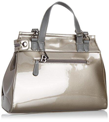 Bulaggi 35286 - Bolsa de asa superior mujer gris - gris