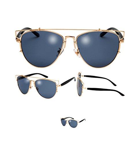 des 6 de Lunettes Sunglasses Metal X8 Eyewear Vintage Hollow Lunettes Couleur Soleil 2 6r6qxf7