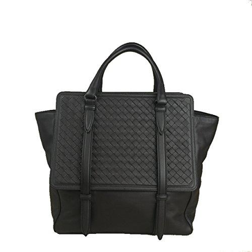 BOTTEGA VENETA Large Dark Brown Intrecciato Woven Nappa Leather Monaco Bag Handbag Purse Tote