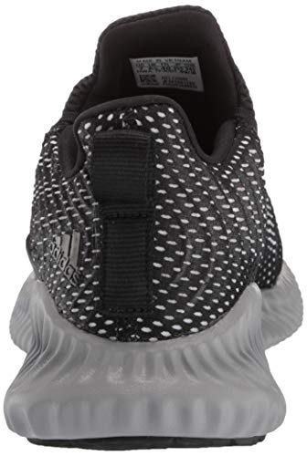 Adidas Kids Alphabounce Instinct, Black/White/Grey, 1 M US Little Kid by adidas (Image #2)