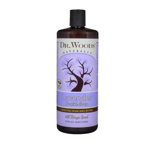 Dr. Woods Soothing Lavender Castile Soap 32 oz (Pack of -