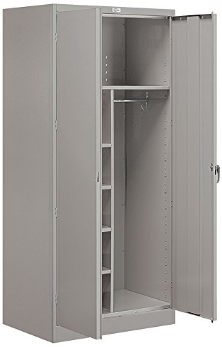Salsbury Industries Combination Storage Cabinet, 78-Inch by 24-Inch, Gray ()