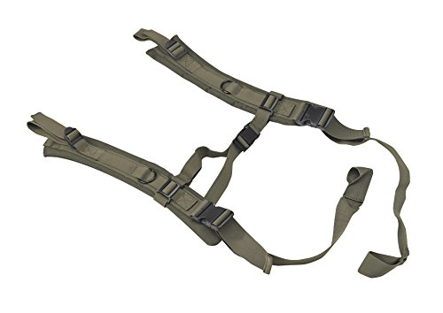 US PeaceKeeper P20302 Padded Backpack Straps for Drag Mat