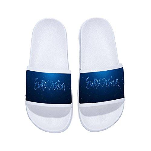 Zapatillas para Mujer de Secado Antideslizantes Rápido Blanco BxqTBr1w