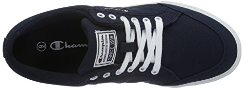 Uomo Navy Basse Placard New da Scarpe ChampionLow Shoe White 2307 Ginnastica Cut Blu 1qxwvnFH0